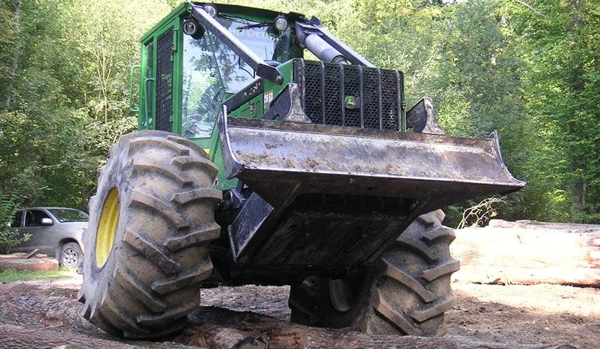 Verstärkter Reifen Forestry
