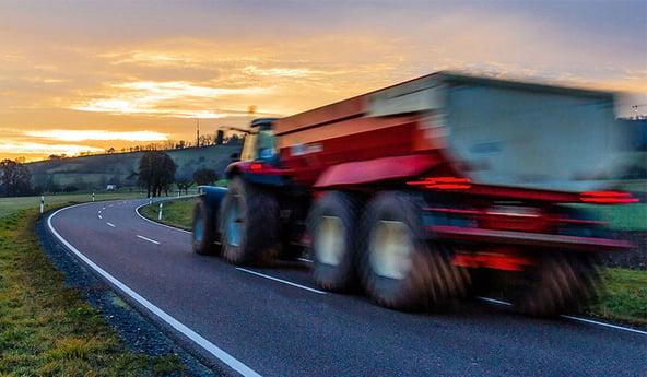 Geschwindigkeitsindex der Traktorreifen