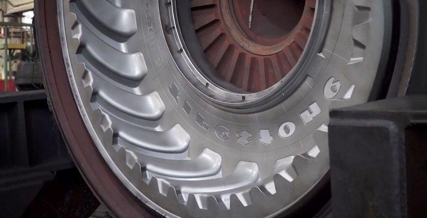 Aushärtungsform für die Vulkanisierung von Traktorreifen