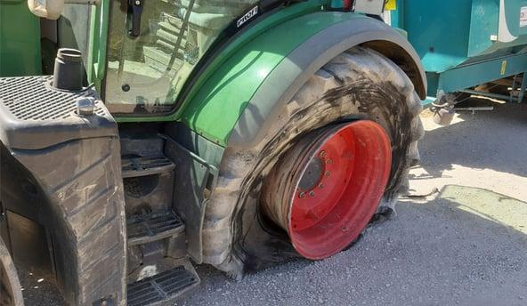 Wann ist eine kalte Reparatur von Traktorreifen möglich?