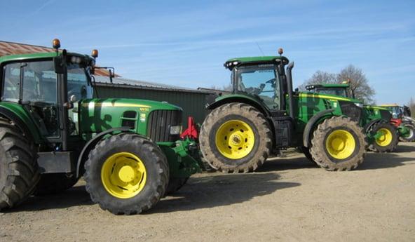 Die besten Reifen für ein landwirtschaftliches Lohnunternehmen