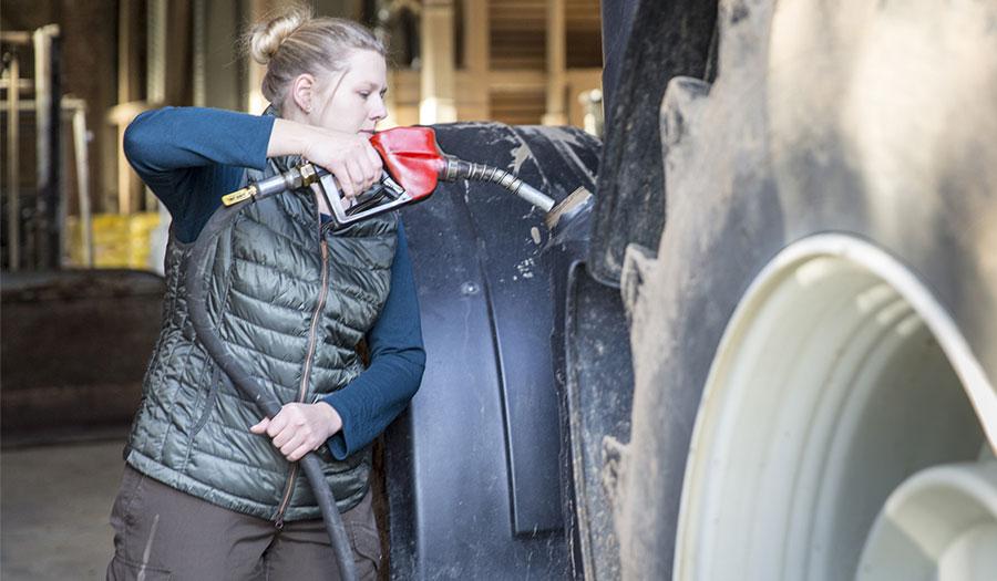 Traktorreifen und Kraftstoffverbrauch