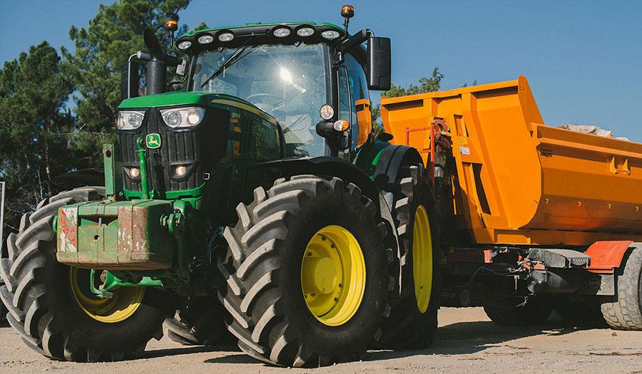 VX-Tractor, der verschleißfestere Reifen